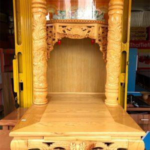 Bàn thờ ông địa cột rồng 61 Cm