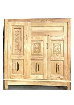 Tủ giày dép gỗ sồi