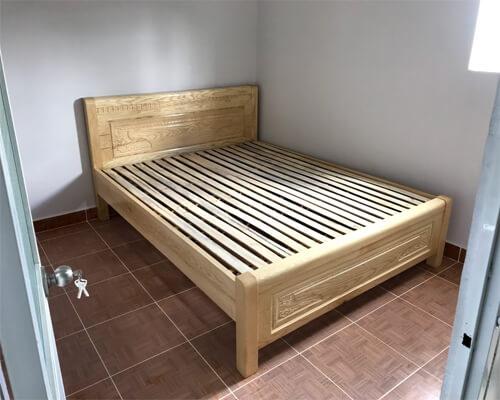 Giường Ngủ 1m6 gỗ tần bì
