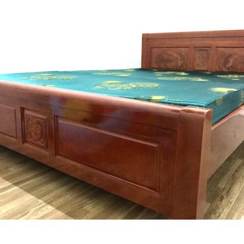 Giường ngủ gỗ xà cừ 1m4, gường