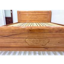 Giường ngủ gỗ xoan đào 1m6 ĐÀ Lạt