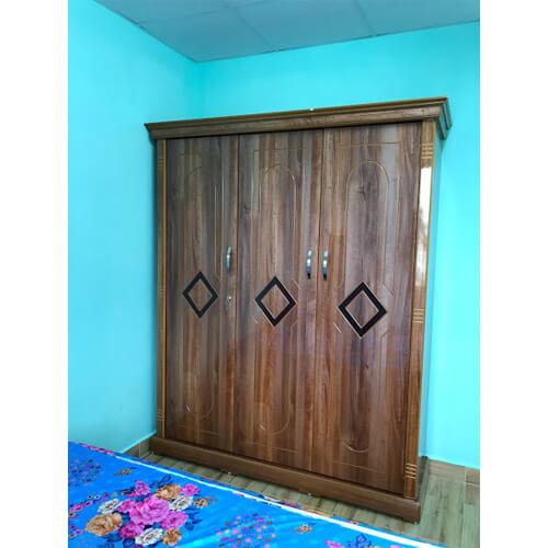 Tủ quần áo 3 cánh gỗ công nghiệp đà lạt