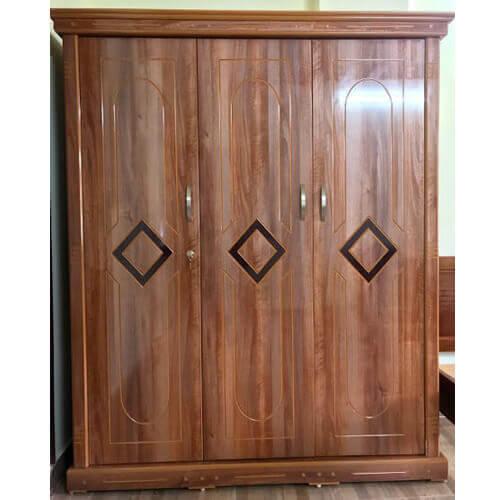 tủ quần áo gỗ công nghiệp 3 cánh đà lạt