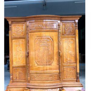Tủ thờ gỗ gõ Đỏ, Tủ thờ gỗ Căm xe
