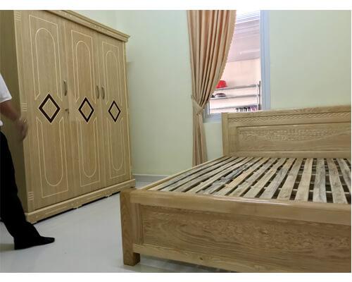 Giường ngủ 1m8 giá rẻ đà lạt