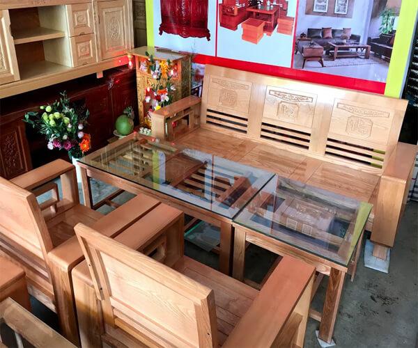 Bàn ghế gỗ Tần Bì Phú Quý