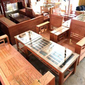 Bàn ghế gỗ Phú Quý