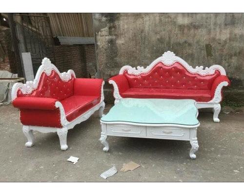 Sofa Tân Cổ Điển Đỏ