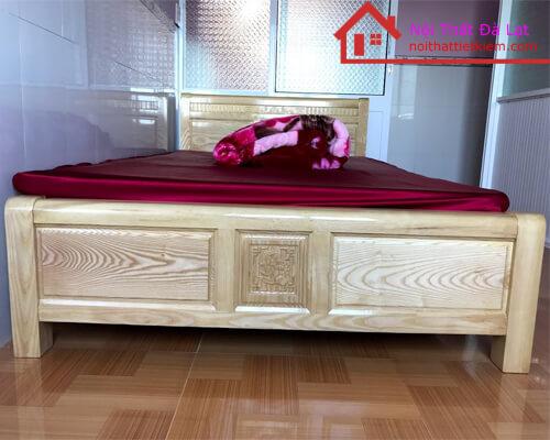 Giường Ngủ 1m2 Gỗ Tần Bì