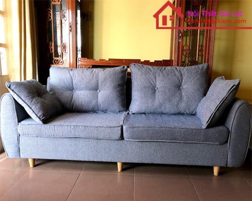 Ghế sofa Băng hai chỗ ngồi vải bố