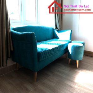 Sofa Băng Vải Nhung Siêu Êm 1M6