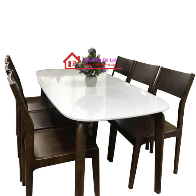 bộ bàn ăn tại bảo lộc