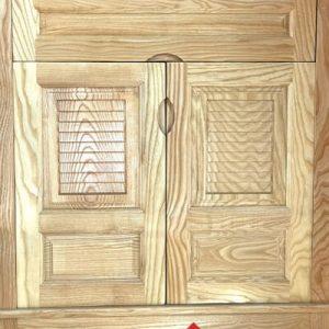 Tủ Giày Dép 2 Cánh Gỗ Tần Bì