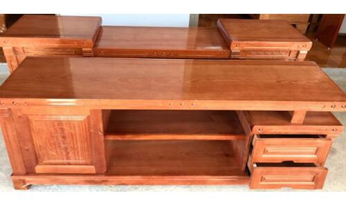 kệ tivi gỗ xoan đào 1m4 giá rẻ