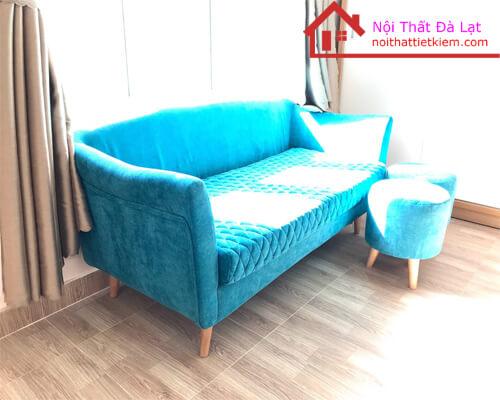 Sofa Băng Vải Nhung