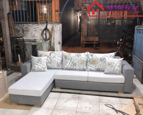 Sofa Góc Chữ L - Nhận Đặt Đóng Sofa