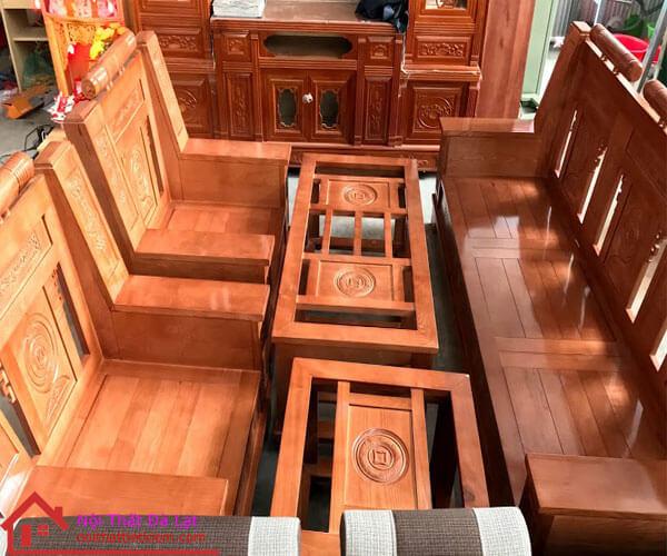 bàn ghế gỗ như ý đà lạt