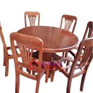 bộ bàn ăn mặt tròn