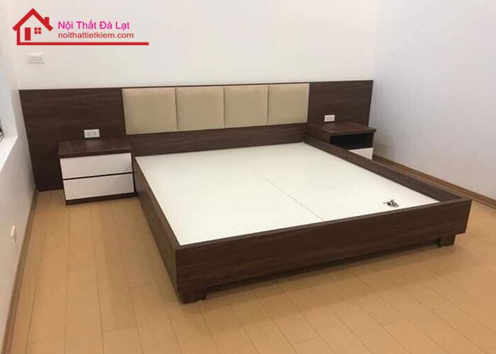 bộ giường ngủ gỗ công nghiệp