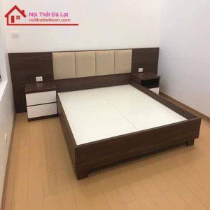 giường ngủ gỗ công nghiệp