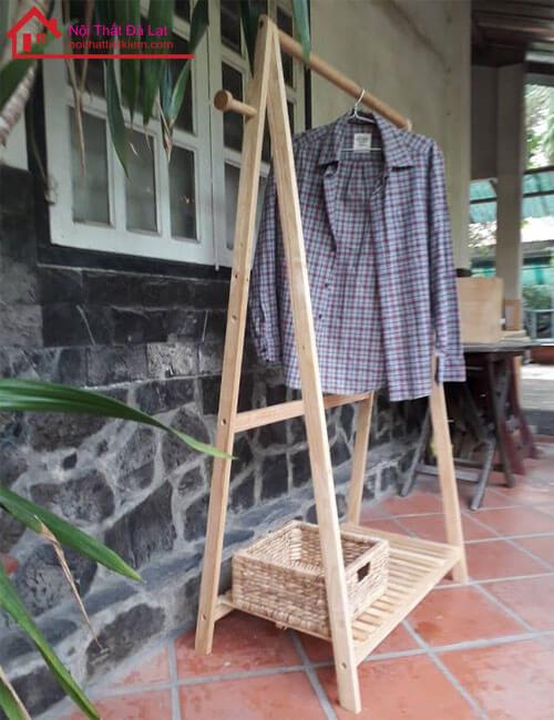 cây phơi đồ bằng gỗ đà lạt