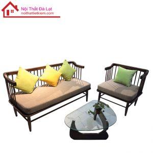 bàn ghế gỗ nan đà lạt