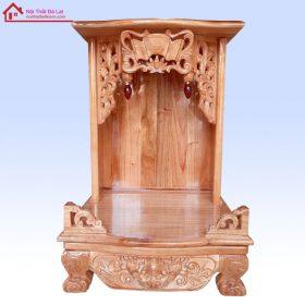 bàn thờ ông địa gỗ xoan